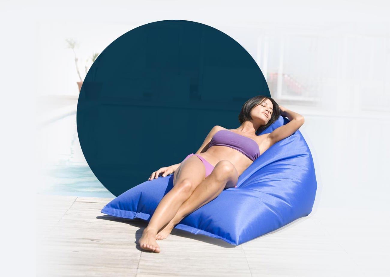 Pouf Giganti per un Relax a 360°