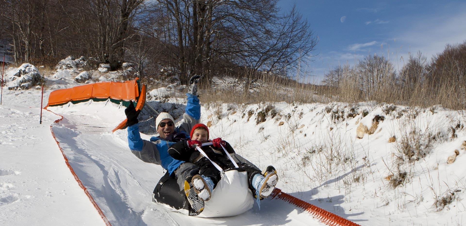 slitte da neve preventivo