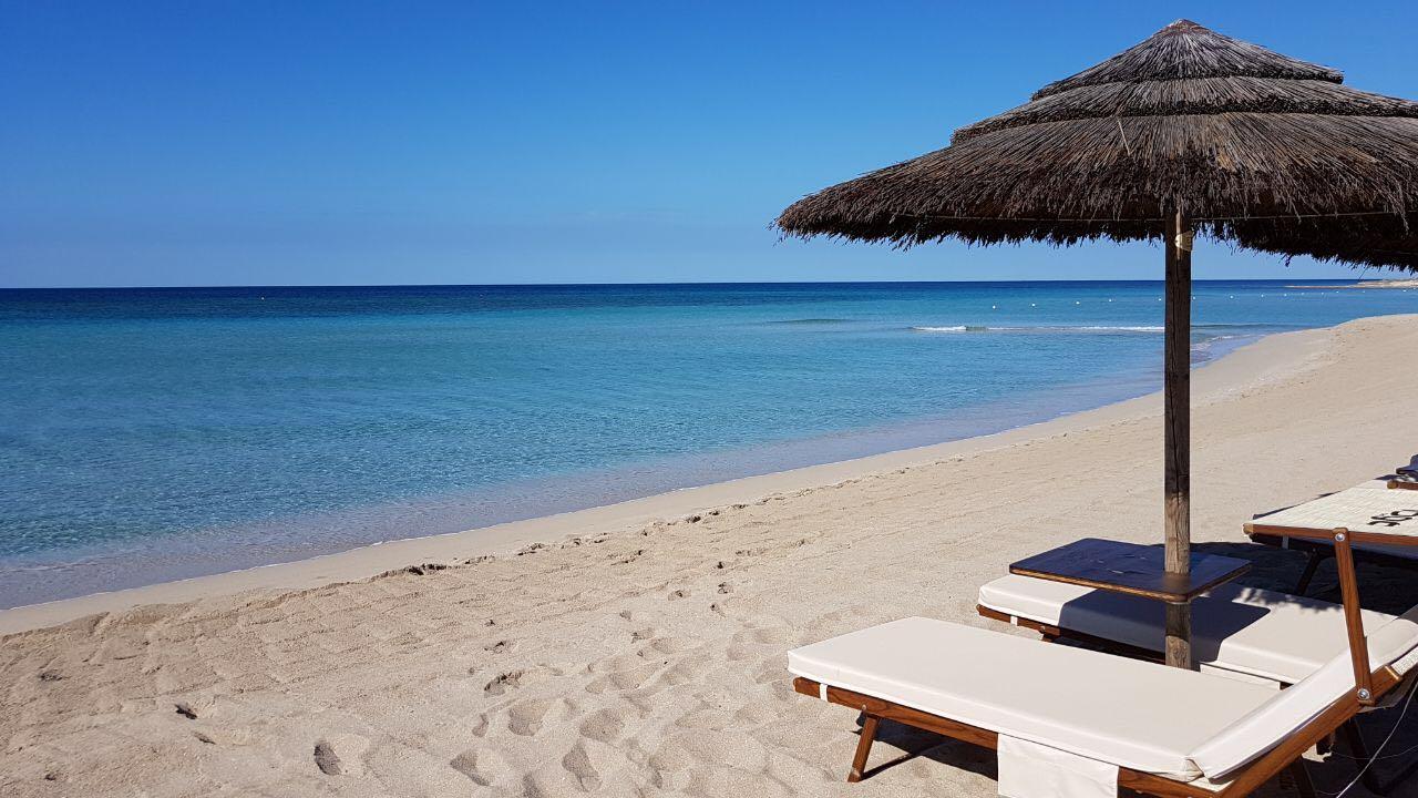 cuscino imbottito lettino prendisole per arredo spiaggia
