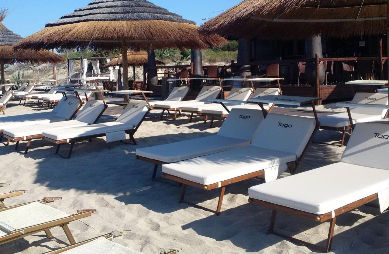 Togo-bay Cuscini per sdraio da spiaggia Pomodone