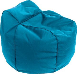 Pouf poltrona royal blue