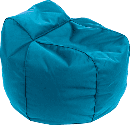 Pouf poltrona royal blue