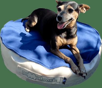 Pouf per cani PET Pomodone