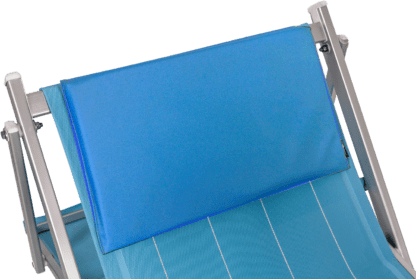 Cuscini poggiatesta imbottiti royal blue